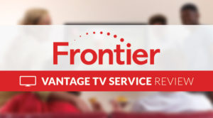 Frontier Vantage TV Service Review Logo