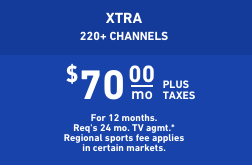 DIRECTV XTRA package