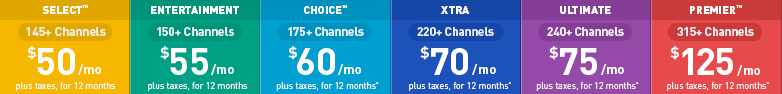 directv pricing