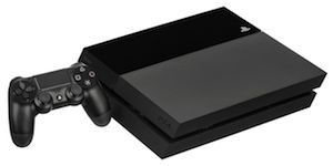 playstation 4 console with controller