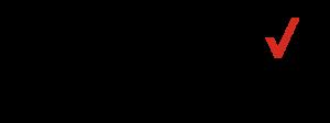 The Verizon authorized retailer logo with the trademark red checkmark