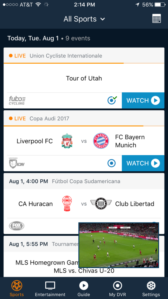 2019 fuboTV Review — Good for Soccer, But That's Not All