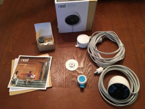 nest outdoor cam out of the box