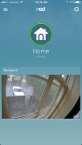 nest outdoor cam screenshot