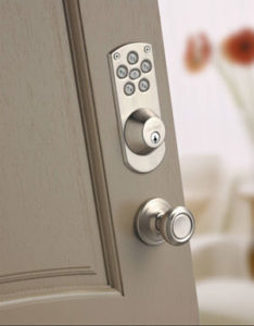 digital keypad door lock