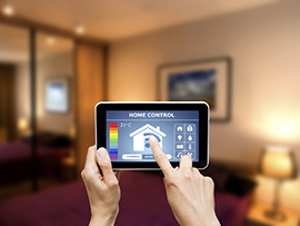 home automation tablet
