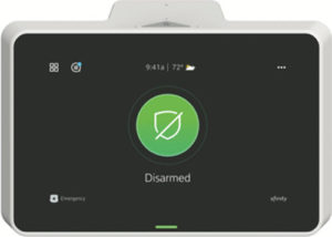 Xfinity control panel