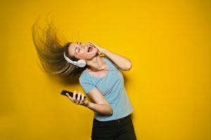 smartphone, cellphone, music