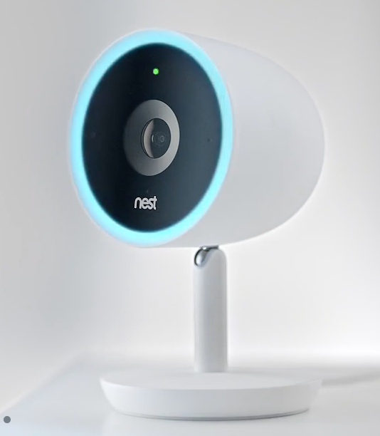 side view of Nest Security Camera