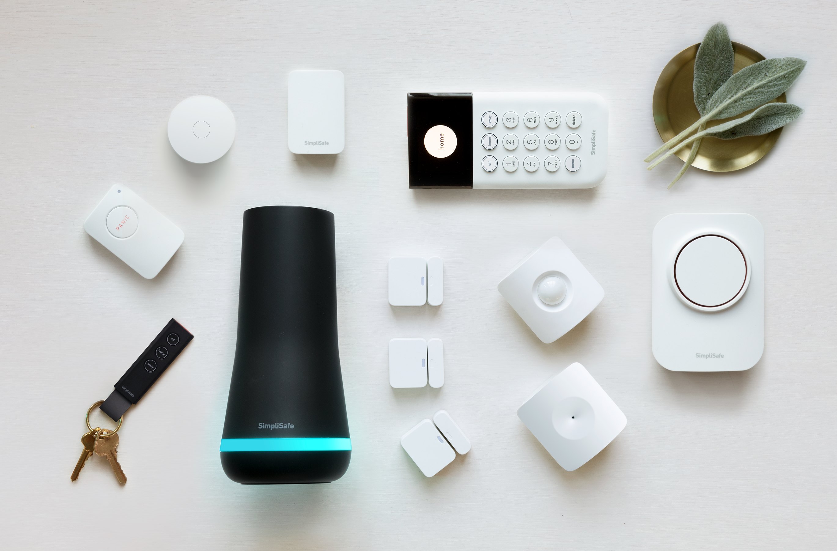 SimpliSafe system and equipment