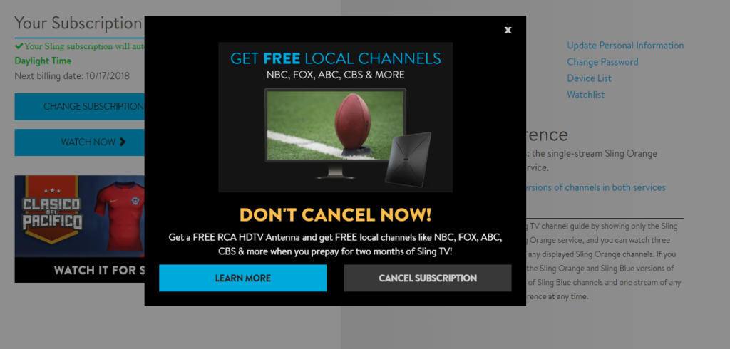 How to Cancel Sling TV — Step by Step Instructions with Pictures