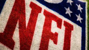 NFL Logo on grass
