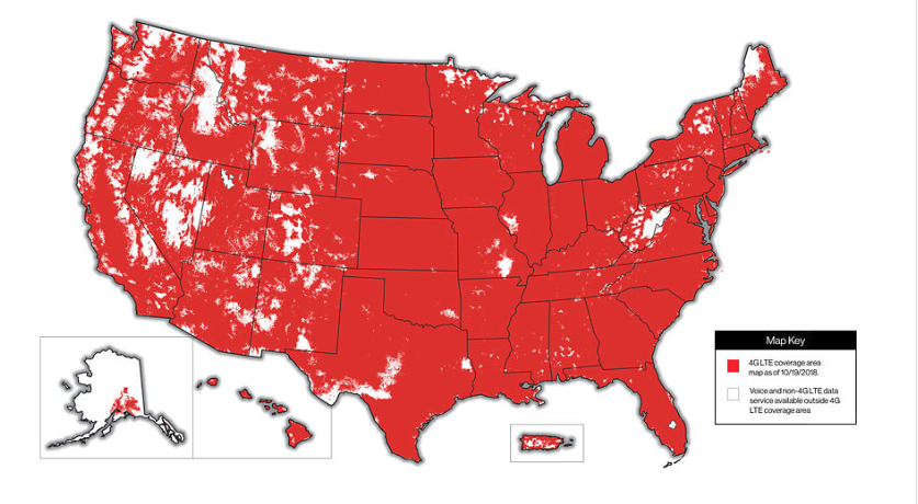 Verizon vs. AT&T Cell Phone Plans Review 2019: Which is Best? on coast electric coverage map, clear wireless internet coverage map, at&t internet coverage map, centurylink area coverage map in florida, centurylink prism tv coverage map, centurylink cell phone plans, centurylink fiber optic internet map, dish internet coverage map, total wireless coverage map, centurylink gigabit map, centurylink colorado springs, centurylink account information, centurylink broadband coverage map, clearwire internet coverage map, centurylink cable tv, centurylink network map, gci internet coverage map, wave broadband coverage map, centurylink parking map, 2014 u.s. internet backbone map,