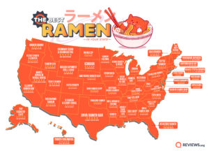 Best Ramen in Your State map