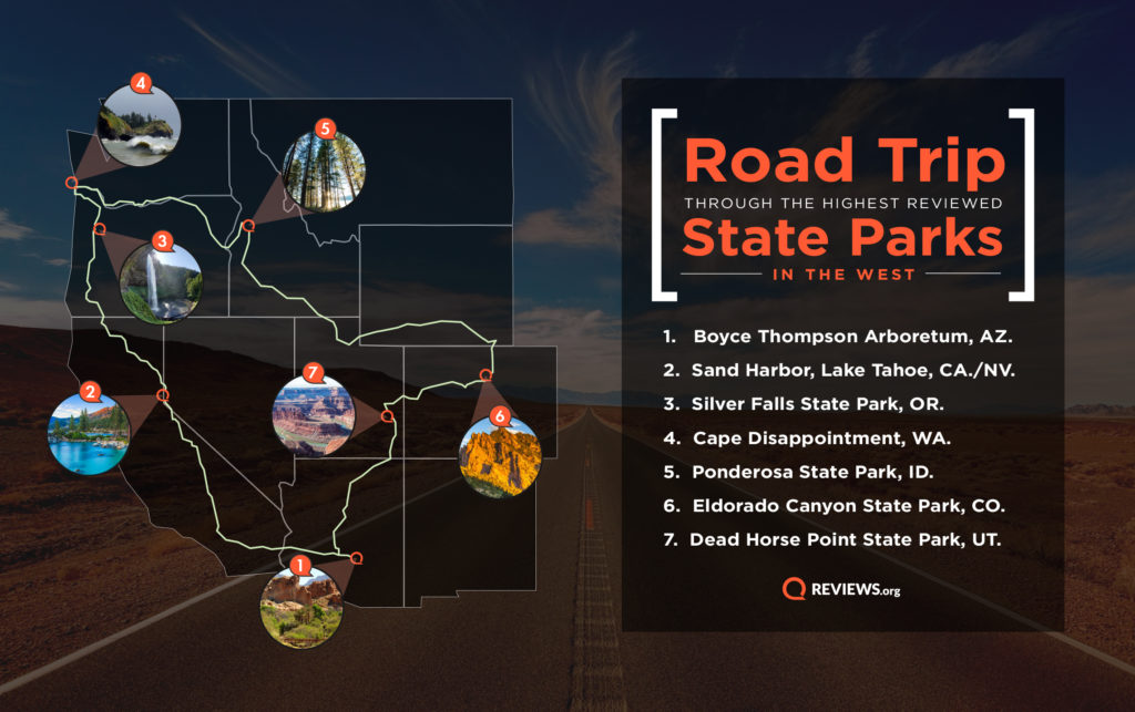 roadtrip guide to the top