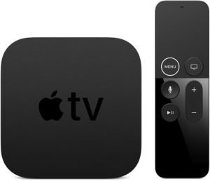 Apple TV 4K and Remote