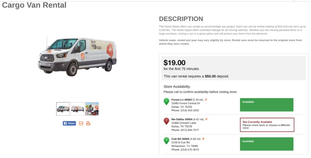 Best Cargo Van Rentals Which Van Is Right For You