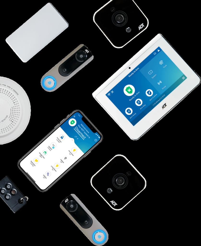 Monitoring Plus Burglar Alarm And Phone Line Wiring