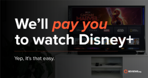 We'll pay you to watch Disney+