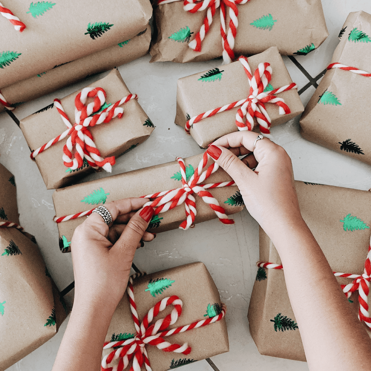 Wrapping Holiday Packages