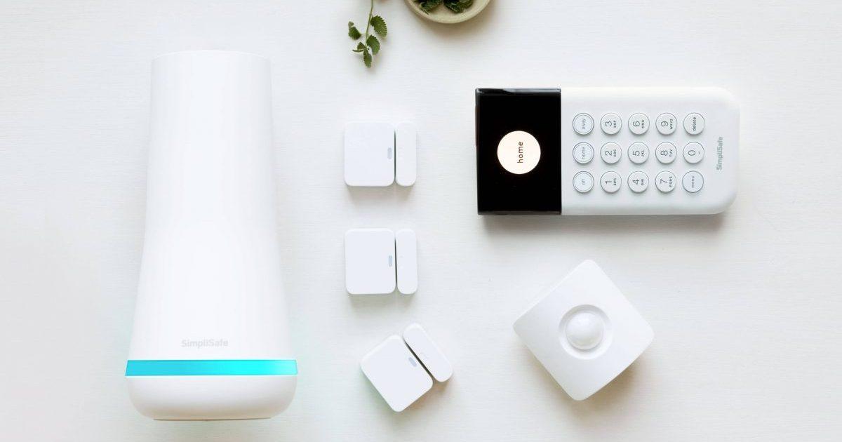 Simplisafe hub and sensors