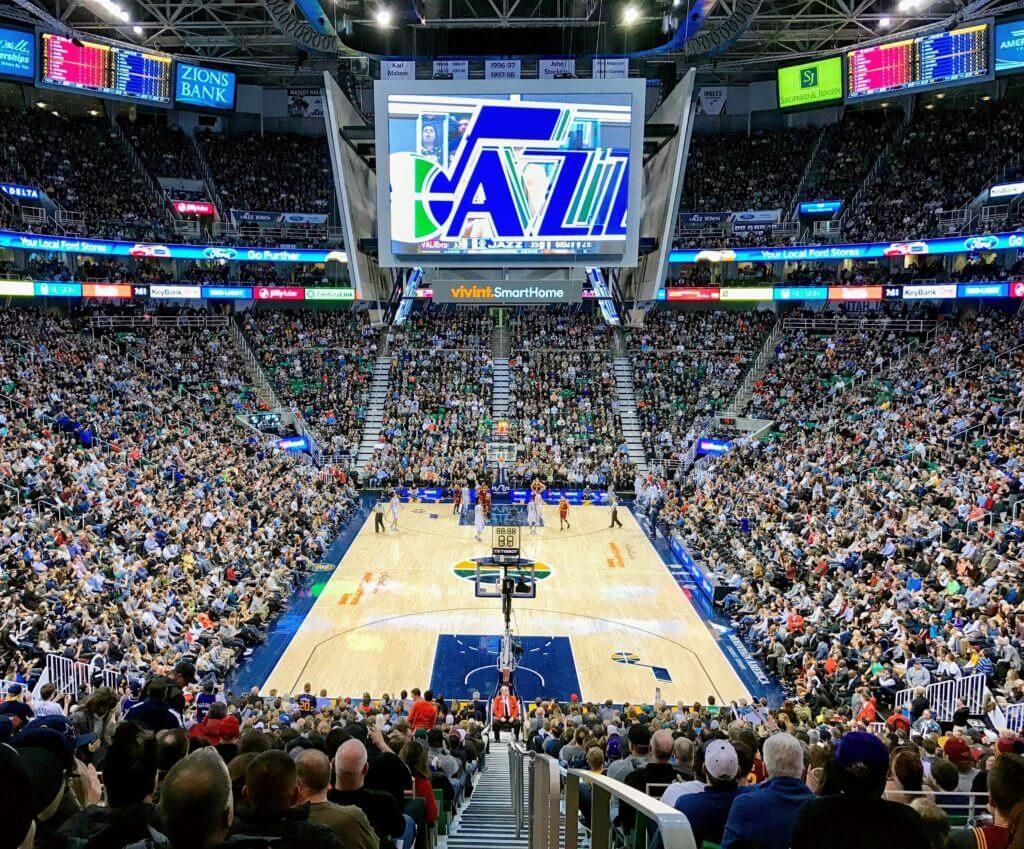 Utah Jazz game at Vivint Smart Home Arena
