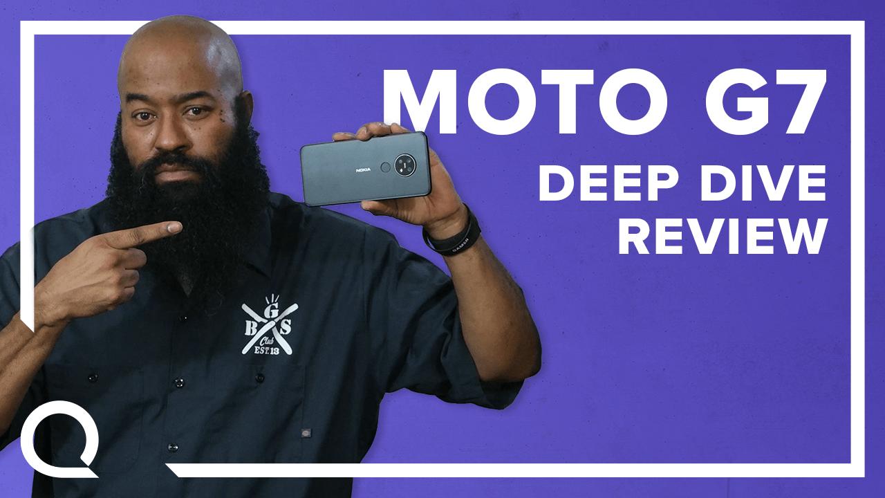 Motorola Moto G7 Smartphone