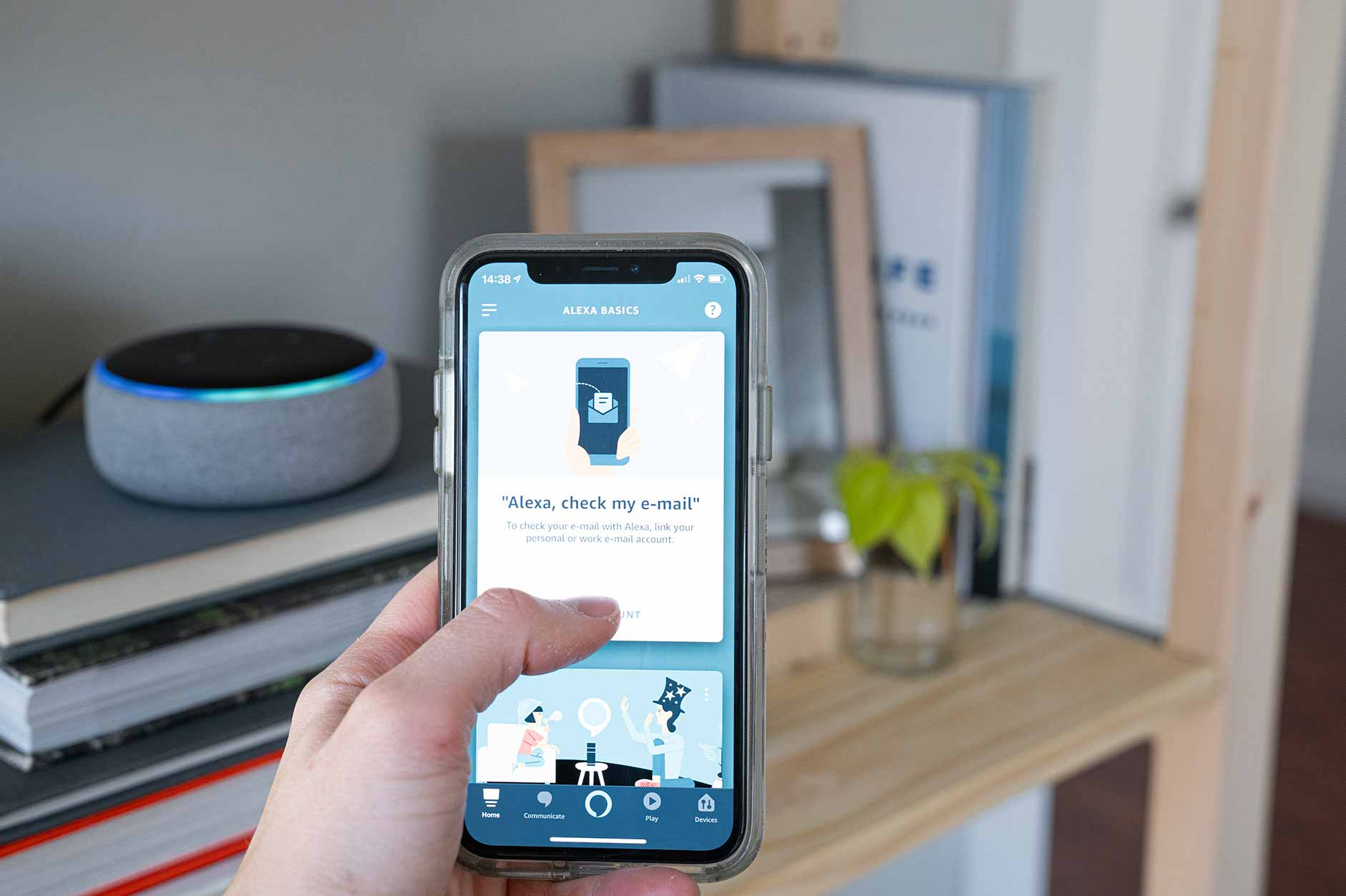 Checking email with Amazon Echo