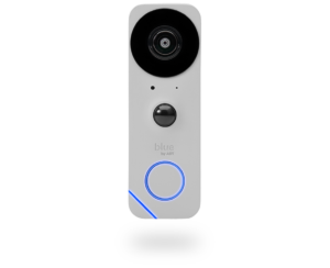 Pearl gray Blue by ADT video doorbell camera