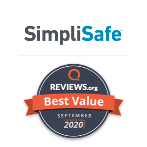 SimpliSafe Best Value Award