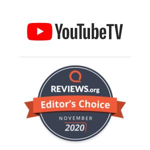 YouTube TV Editor's Choice