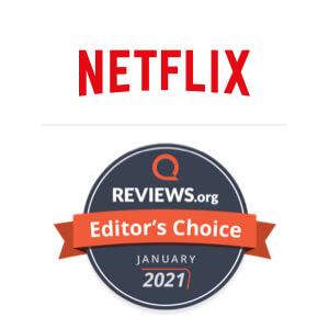 Netflix Editors Pick badge
