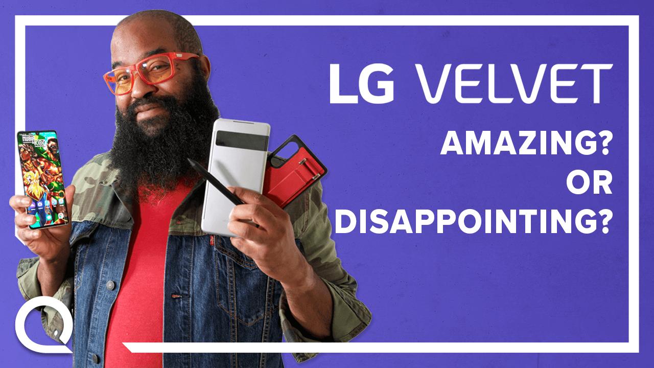 Tshaka reviews the LG Velvet 5G