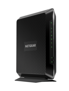 The black Netgear Nighthawk C7000 modem for Xfinity internet