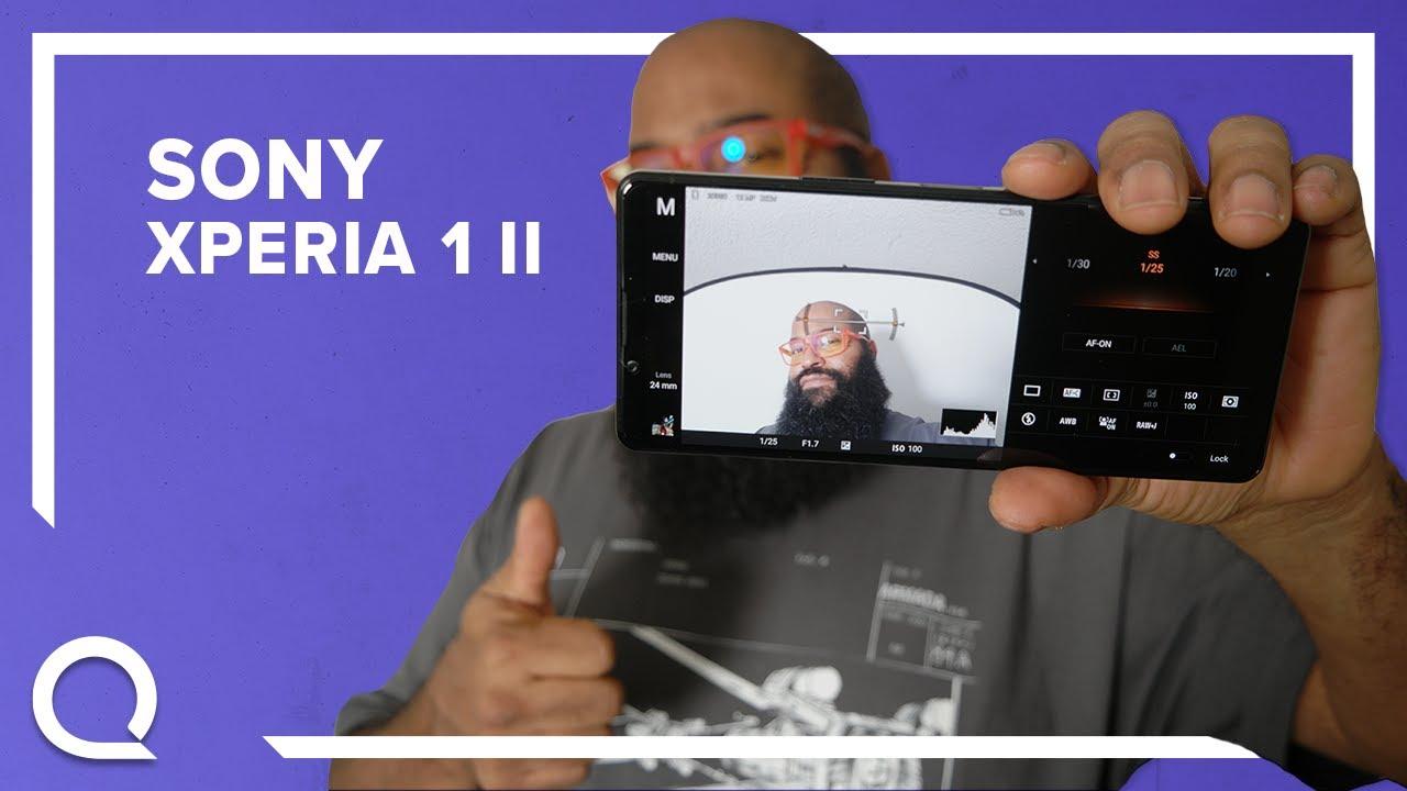 Tshaka with Sony Xperia 1 ii