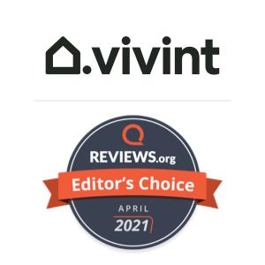 Vivint Editor's Pick award badge