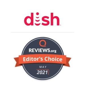 DISH Editors Pick badge for May 2021