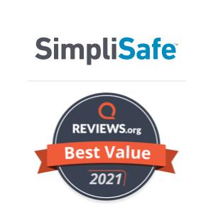 SimpliSafe Best Value Badge