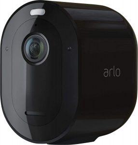 Arlo Pro 4 in black