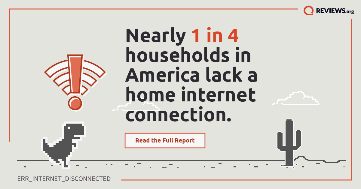 Nearly 1 in 4 Households in America Lack a Home Internet Connection