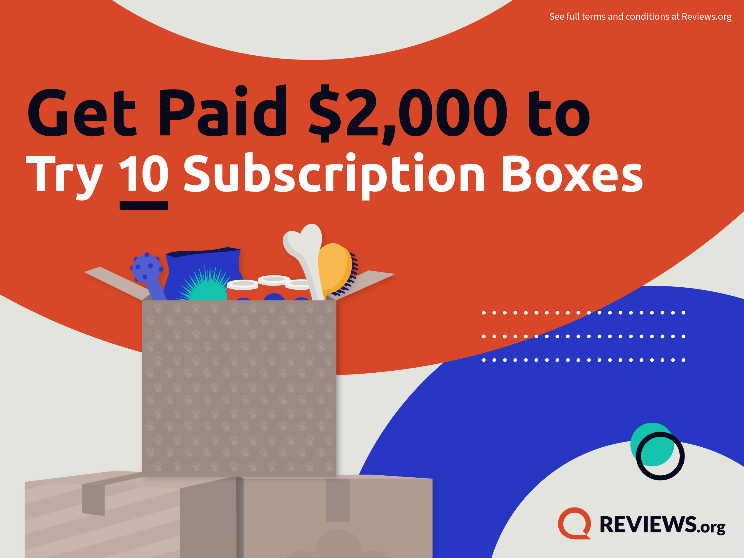 Dream Job: Get Paid $2,000 to Try 10 Subscription Boxes
